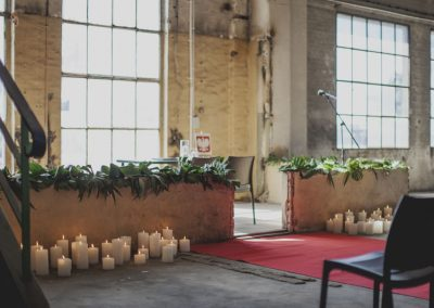 Ślub w industrialnym klimacie